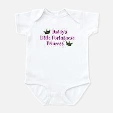 Daddy's Little Portuguese Princess Infant Bodysuit