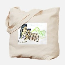 Land Of The Native Americans Tote Bag