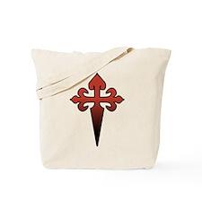 Dagger and Cross Tote Bag