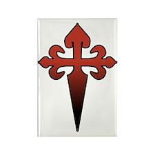 Dagger and Cross Rectangle Magnet