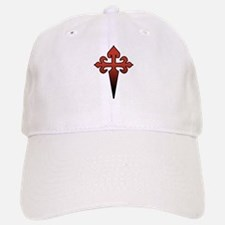 Dagger and Cross Baseball Baseball Cap