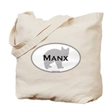 Manx Oval Tote Bag