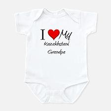 I Love My Kazakhstani Grandpa Infant Bodysuit