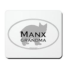 Manx Grandma Mousepad
