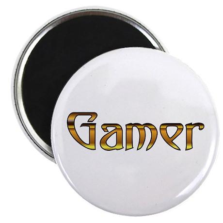 Gamer (Gold) Magnet