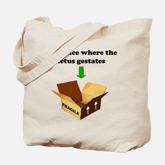 Place to Gestate! Tote Bag