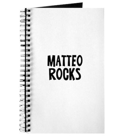 Matteo Rocks Journal
