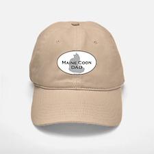Maine Coon Dad Baseball Baseball Cap