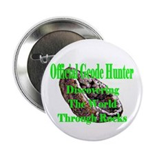 """Geode Hunter 2.25"""" Button"""