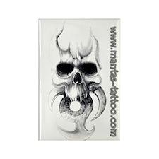 Mantas tattoo Rectangle Magnet