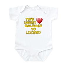 This Heart: Lazaro (D) Infant Bodysuit