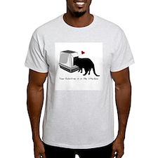 Litterbox Valentines T-Shirt