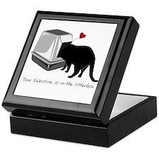 Litterbox Valentines Keepsake Box