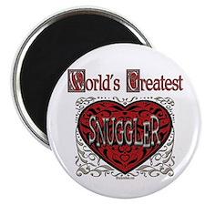 World's Best Snuggler Magnet