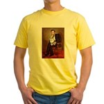 Lincoln's Corgi (Bl.M) Yellow T-Shirt