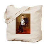 Lincoln's Corgi (Bl.M) Tote Bag