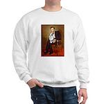Lincoln's Corgi (Bl.M) Sweatshirt