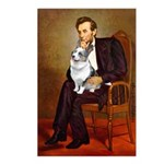 Lincoln's Corgi (Bl.M) Postcards (Package of 8)