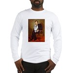 Lincoln's Corgi (Bl.M) Long Sleeve T-Shirt