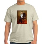 Lincoln's Corgi (Bl.M) Light T-Shirt