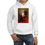 Lincoln's Corgi (Bl.M) Hooded Sweatshirt
