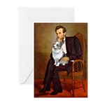 Lincoln's Corgi (Bl.M) Greeting Cards (Pk of 10)