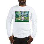Bridge / Welsh Corgi (Bl.M) Long Sleeve T-Shirt