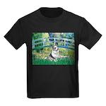 Bridge / Welsh Corgi (Bl.M) Kids Dark T-Shirt