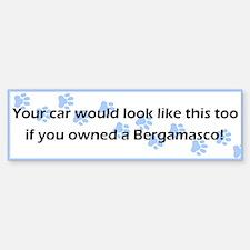 Your Car Bergamasco Bumper Bumper Bumper Sticker