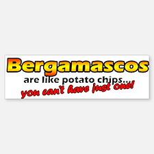Potato Chips Bergamasco Bumper Bumper Bumper Sticker