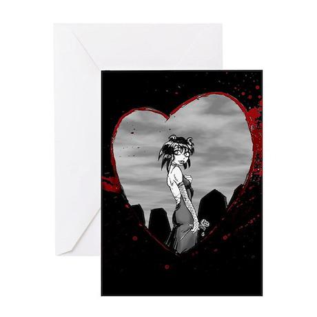Goth Valentine Card