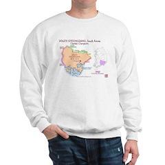 South Gyeongsang Map Sweatshirt