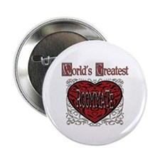 "World's Best Roommate 2.25"" Button"