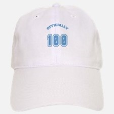 Officially 100 Baseball Baseball Cap
