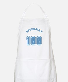 Officially 100 BBQ Apron