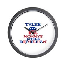Tyler - Mommy's Little Republ Wall Clock