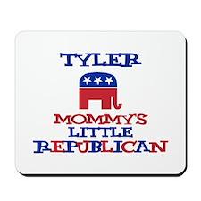 Tyler - Mommy's Little Republ Mousepad