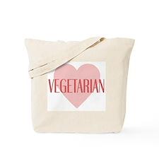 Love Vegetarian Tote Bag