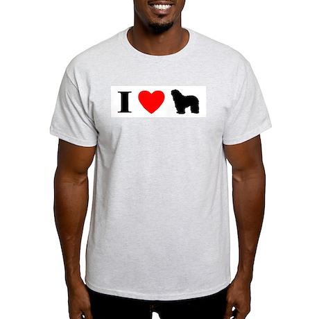 I Heart Bergamasco Light T-Shirt