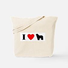 I Heart Bergamasco Tote Bag