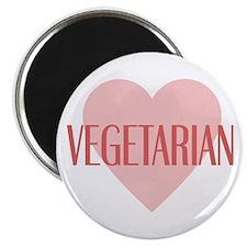 Love Vegetarian Magnet