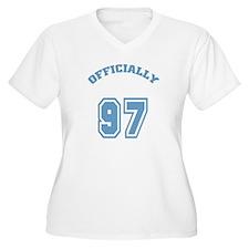 Officially 97 Women's Plus Size V-Neck T-Shirt