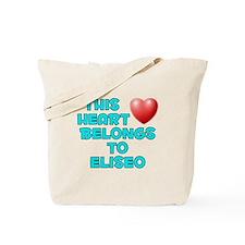 This Heart: Eliseo (E) Tote Bag
