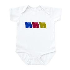 Color Row Bergamasco Baby Bodysuit