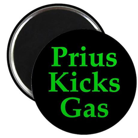 Prius Kicks Gas Dark Magnet