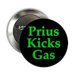 """Prius Kicks Gas Dark 2.25"""" Button"""