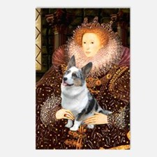 The Queen's Corgi (Bl.M) Postcards (Package of 8)