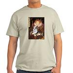 The Queen's Corgi (Bl.M) Light T-Shirt