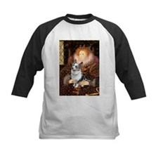 The Queen's Corgi (Bl.M) Tee