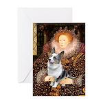 The Queen's Corgi (Bl.M) Greeting Card